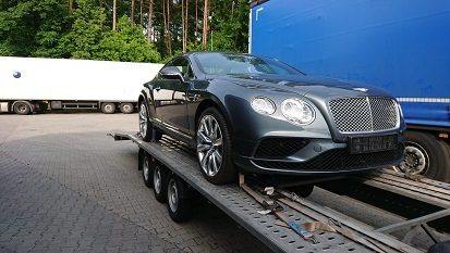 Transport of cars on a car trailer - Costs